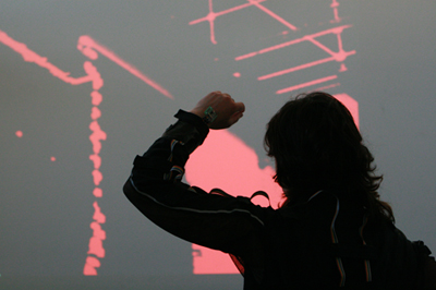 ID-i/o (audio and performance) and dpwolf (video) at Electrofringe