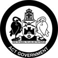 logo: ACT Government - artsACT