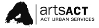 logo: artsACT - ACT Urban Services